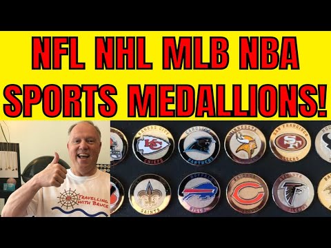 nfl-nhl-nba-mlb-fans-i've-got-something-for-you!-help-fund-my-youtube-channel-with-these-medallions