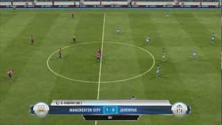FIFA 13 DEMO PC | Manchester City 1 - 0 Juventus