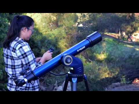 StarNavigator 102 Refractor Computerized Telescope + Smart Phone Adapter + Telescope Carry Bag video thumbnail