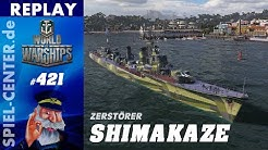 World of Warships Replay #421: Shimakaze [ Kurz & schmerzvoll! ]