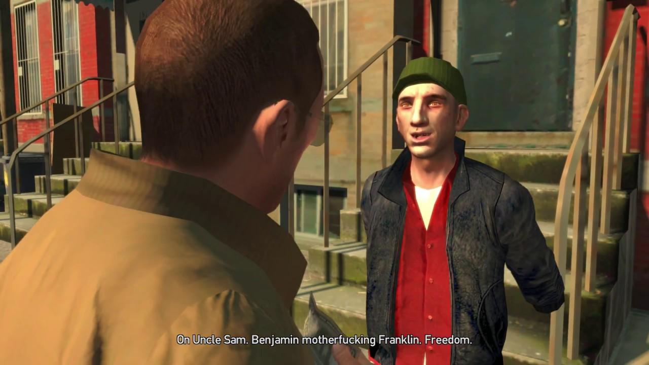 Grand Theft Auto Iv 4k Brian Meech First Encounter