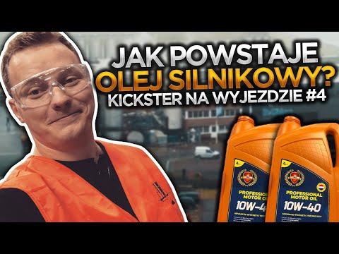 Jak powstaje olej silnikowy? - Kickster na wyjeździe #11