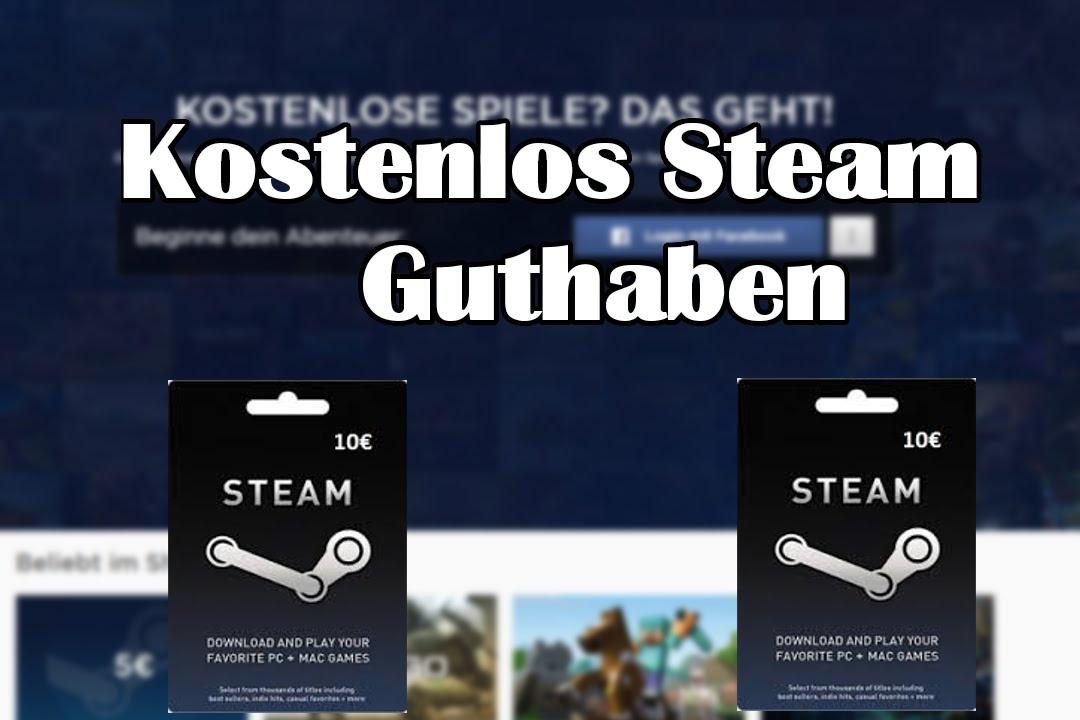 Steam Guthaben Kostenlos Legal