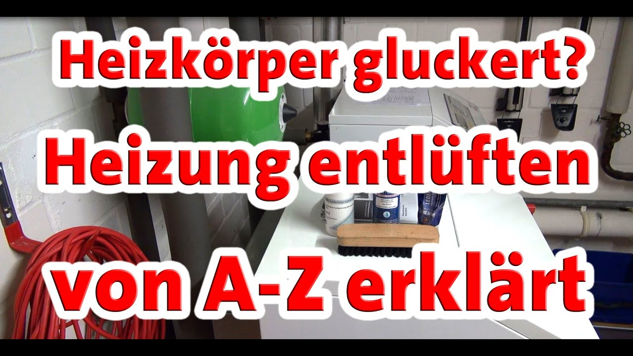 heizk rper entl ften wasserdruck kontrollieren heizung macht komische ger usche youtube. Black Bedroom Furniture Sets. Home Design Ideas