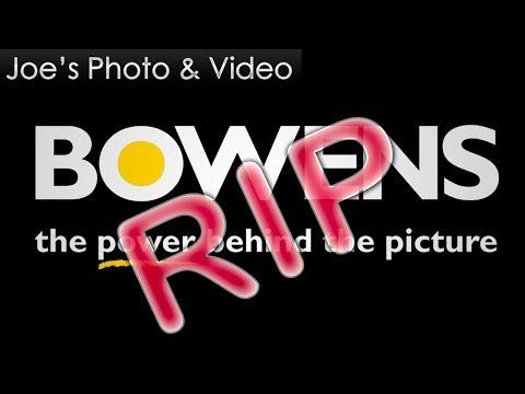 Weekly Photo Blog With Joe - Bowens Is Dead, plus 7D mk III & 90D Coming Soon?