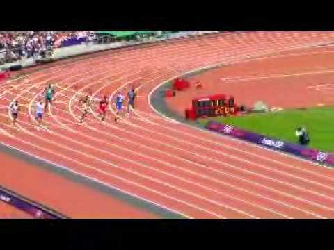 SIERRA LEONE IBRAHIM TURAY COMPETE IN THE 200M IN LONDON 2012 REPORT