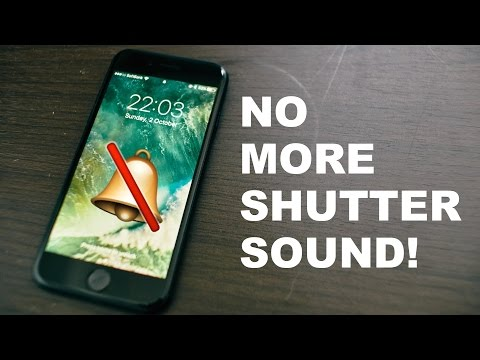 How-to remove iPhone shutter sound (without jailbreak!)