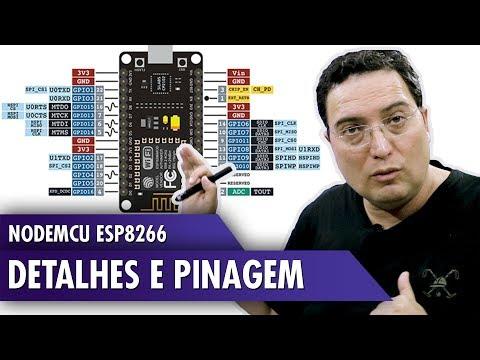 NodeMCU ESP8266: Details and Pinout: 11 Steps