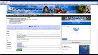 Climate Data Online (Stasiun Klimatologi Kediri NTB - BMKG)