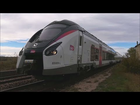 TRAIN/CORADIA LINER/PARIS-MULHOUSE/LIGNE4/MARS/2019