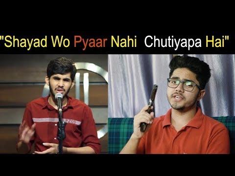 """""""Shayad Wo Pyaar Nahi  Chutiyapa Hai""""- iamdineshthakur"""