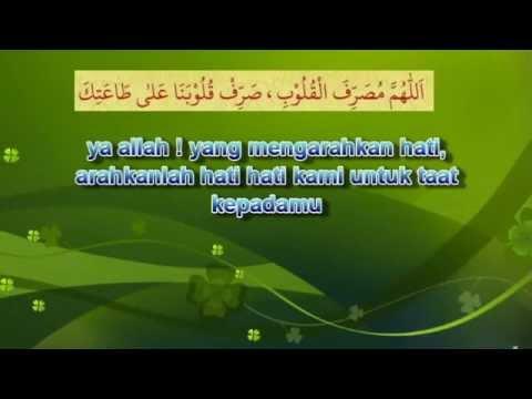 doa agar diberi ketetapan hati
