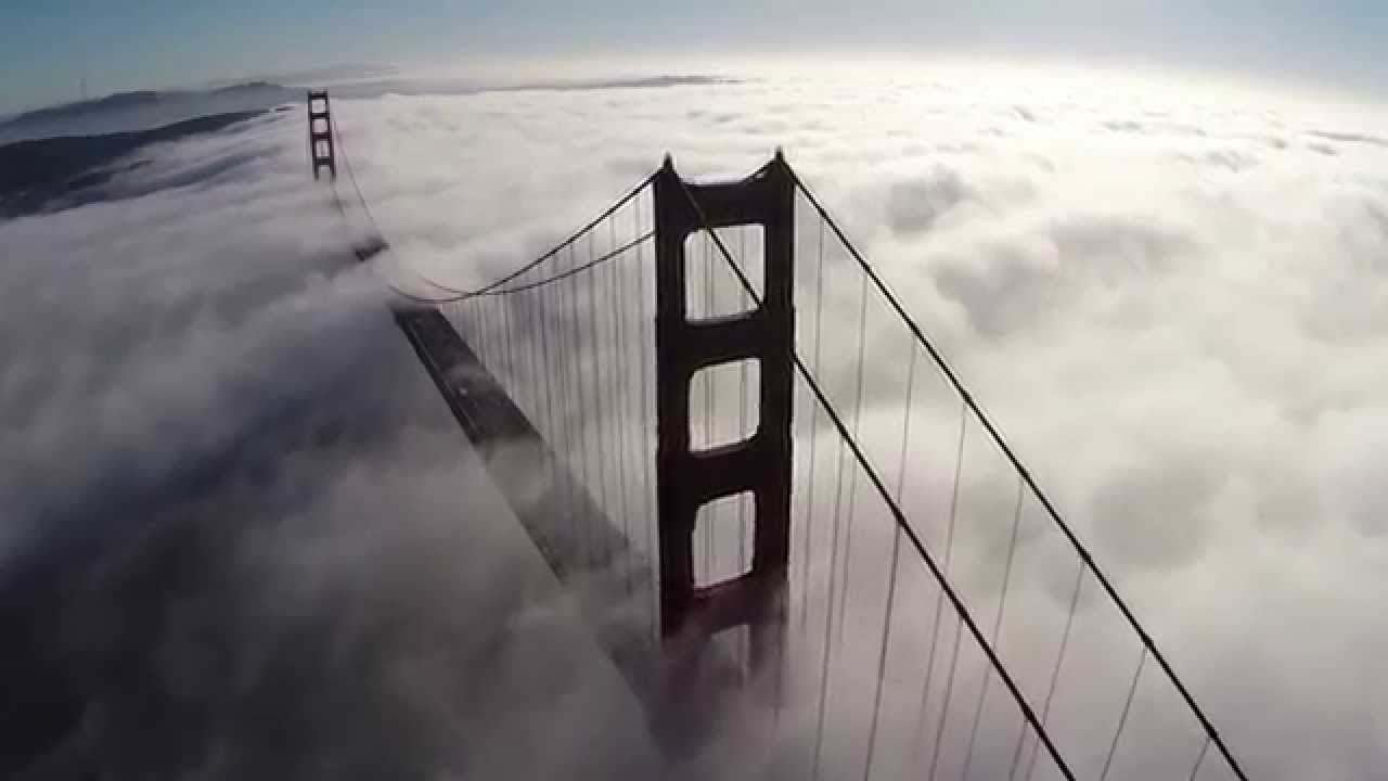 Golden Gate Bridge With Awesome San Francisco Fog