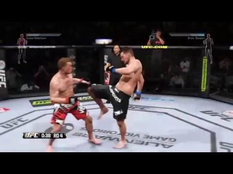 LIVE - UFC Welterweight Fight - Calum Robertson v Brian Stewart