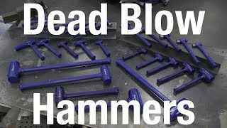 Dead Blow Hammers for EVERY JOB! Eastwood
