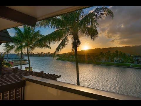 Hawaii Kai   Kaimala Marina   #128   Waterfront Sunset Views