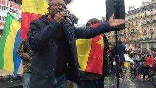 Manifestation contre les Dictateurs Africains - Raimundo Ela Opposant de la Guinée Equatoriale