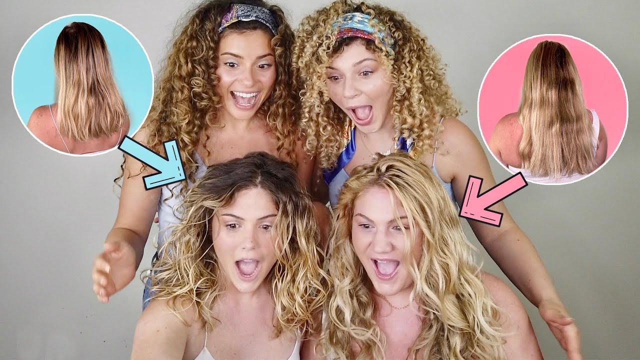 THEY DIDN'T KNOW THEIR HAIR WAS WAVY (wavy hair tutorial)
