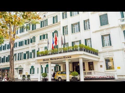 Hotel Metropole Sofitel Hanoi Vietnam Lobby Room Bar Pool