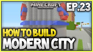 Minecraft Xbox - How To Build A Modern City (EP.23) - Tubestation/Subway
