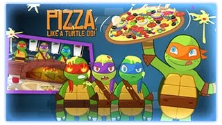 Ninja Turtles - Pizza Like A Turtle Do ! - Ninja Turtles Games