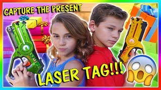 FIND THE PRESENT LASER TAG | We Are The Davises