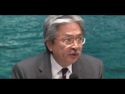 Finance Sec. John Tsang on the Wang Chau land development controversy