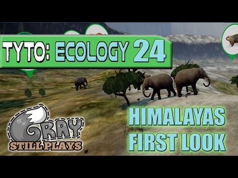 Tyto Ecology | The Himalayas New DLC First Look, We've Got Elephants | Part 24 | Gameplay Let's Play |
