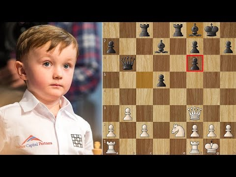 4 Year Old Chess Prodigy Misha vs 95 Year Old GM Yuri Averbakh