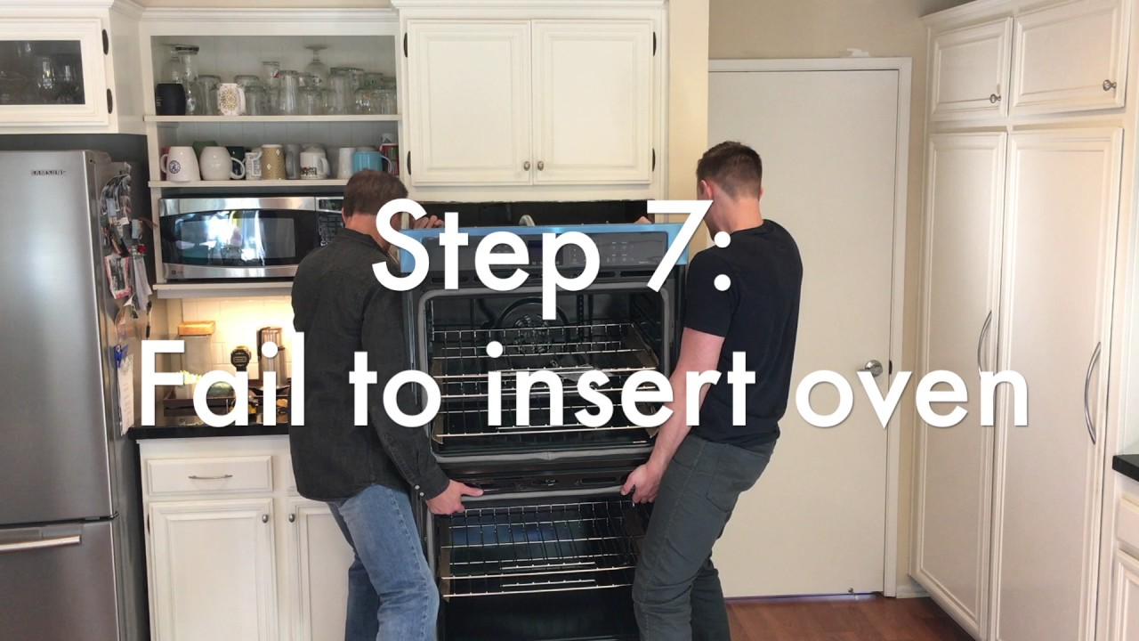 small resolution of easy whirlpool oven installation