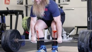 Bloody Shins Are Not Cool - Deadlift Demonstration