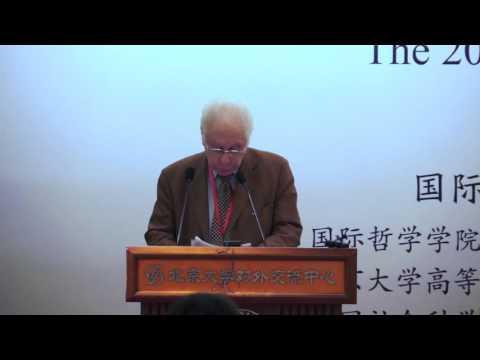 Prof. Gilbert Hottois: Visages du trans/posthumanisme à la lumière de la question de l'humanism