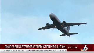 NBC 6: COVID-19 Brings Temporary Reduction in Pollution