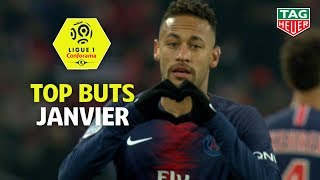 Top buts Ligue 1 Conforama - Janvier (saison 2018/2019)
