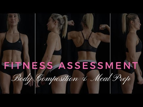 MEAL PREP/BODY FAT/ FITNESS ASSESSMENT/GROCERY HAUL