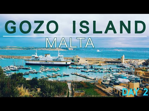 Gozo, Malta Travel Vlog 2018 (Day 2)
