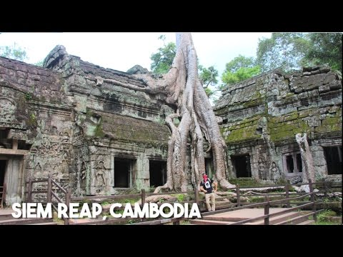 Backpacking in Cambodia! (Angkor Wat in Siem Reap)