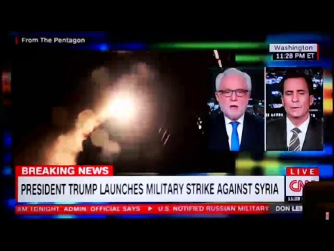 📡 *** BREAKING NEWS / OPERATION BLACKJACK WARNING - US LAUNCHES AIRSTRIKES ON SYRIA