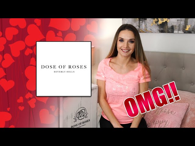 DOSE OF ROSES UNBOXING   THE PERFECT VALENTINE'S DAY GIFT🌹🌺❤️