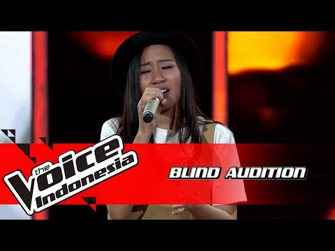 Naila - I Dont Wanna Be You Anymore | Blind Auditions | The Voice Indonesia GTV 2018