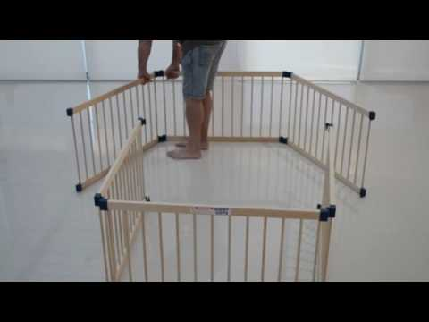 Wooden Playpen Assembly