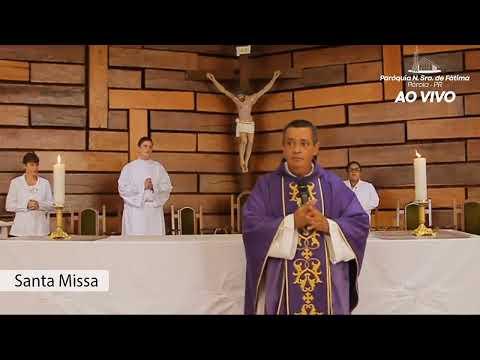 SANTA MISSA - 29-03 - DOMINGO - QUINTA SEMANA DA QUARESMA