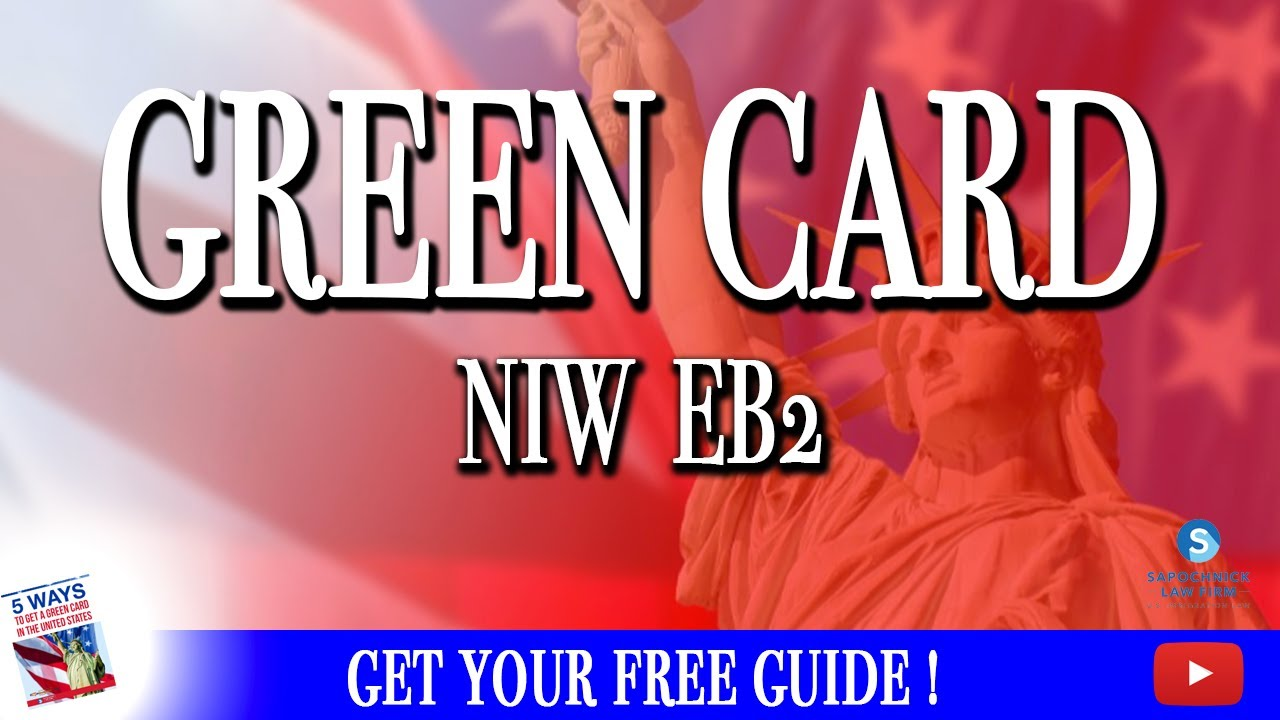 San Diego Immigration Lawyer: New NIW EB2 Green Card Standard (Matter of  Dhanasar)