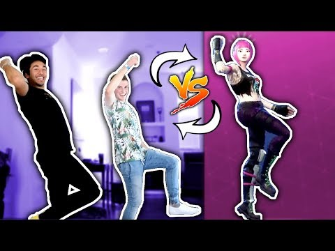 FORTNITE DANCE CHALLENGE IN REAL LIFE! W Brennen Taylor