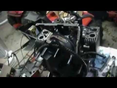 Onan P220g Valve Adjustment Youtube