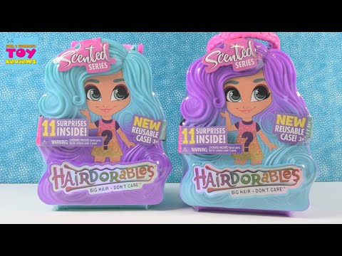 Hairdorables Scented Series Doll Unboxing Review | PSToyReviews