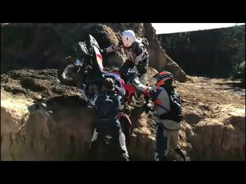 Motorcycle Adventure Therapy - Adventure Through Lesotho at Peka Bridge in South Africa