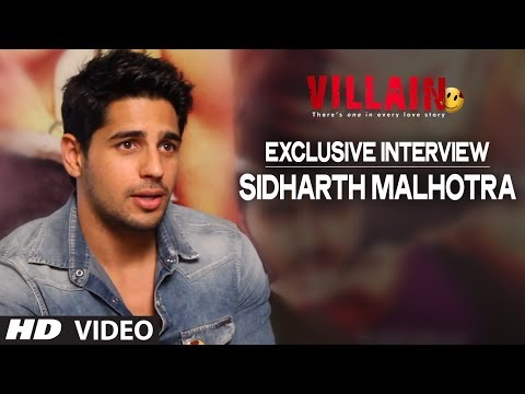 Exclusive: Sidharth Malhotra Interview | Ek Villain