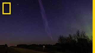 Purple Streak Named 'Steve' Is a Whole New Type of Aurora | National Geographic