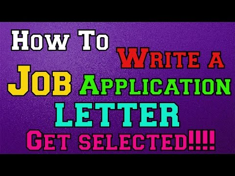 how-to-write-a-job-application-letter-and-get-selected!!